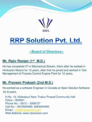 RRP Solution Pvt. Ltd.