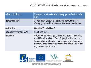 VY_32_INOVACE_Čj.3.16_Vyjmenovaná  slova  po  s_  prezentace