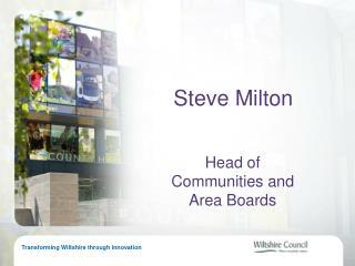 Steve Milton