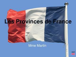 Les Provinces de France