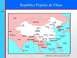 Rep�blica Popular de China