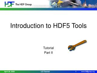 Introduction to HDF5 Tools