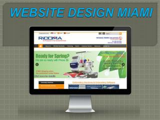 WEB DESIGNERS MIAMI: Know and then take action