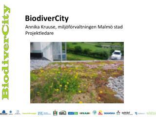 BiodiverCity