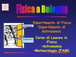 Fisica a Bologna