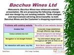 Bacchus Wines Ltd