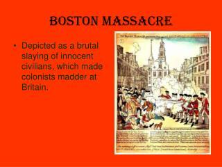 ppt the boston massacre powerpoint presentation id 2322126. Black Bedroom Furniture Sets. Home Design Ideas
