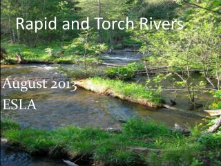 Rapid and Torch Rivers