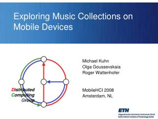 Exploring Music Collections on Mobile Devices