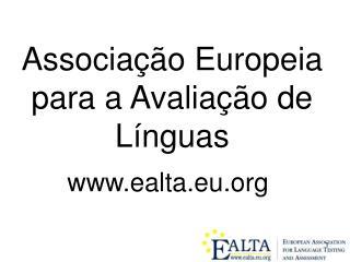 Associação Europeia para a Avaliação de Línguas