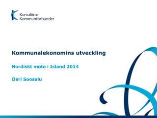 Kommunalekonomins utveckling