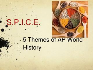5 Themes of AP World History