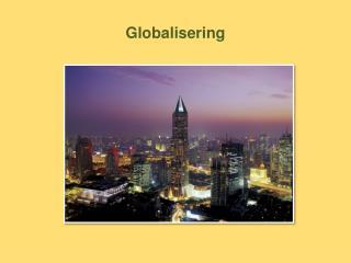 Globalisering