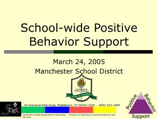 School-wide Positive Behavior Support