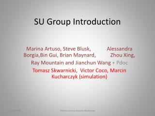 SU Group Introduction