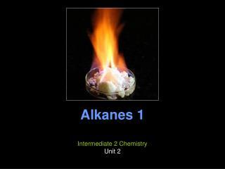 Alkanes 1