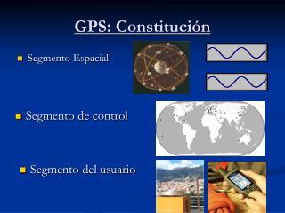 GPS: Constitución