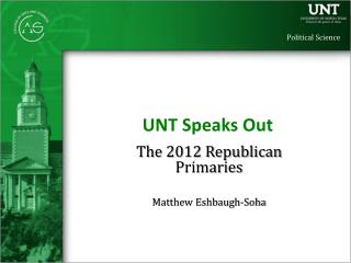 UNT Speaks Out