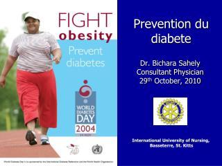 Prevention du diabete