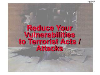 Reduce Your Vulnerabilities to Terrorist Acts / Attacks
