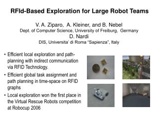 RFId-Based Exploration for Large Robot Teams