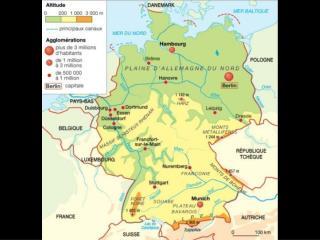 L Allemagne :   un territoire redessin  au cours du XX  si cle