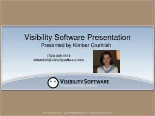 Visibility Software Presentation