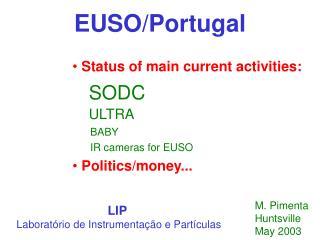 EUSO/Portugal