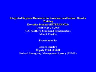 This is FEMA: