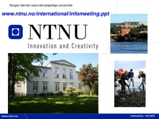 Infomeeting – Fall 2009