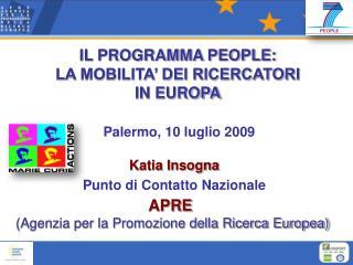 Palermo, 10 luglio 2009