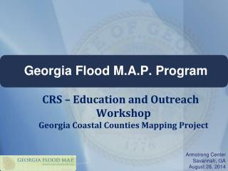 Georgia Flood M.A.P. Program