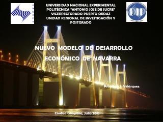 """UNIVERSIDAD NACIONAL EXPERIMENTAL POLITÉCNICA """"ANTONIO JOSÉ DE SUCRE"""" VICERRECTORADO PUERTO ORDAZ"""