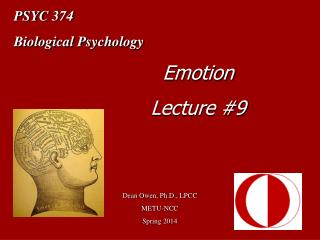 PSYC 374 Biological Psychology