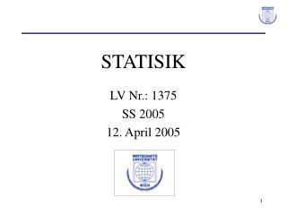 STATISIK