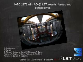 NGC 2273  with AO  @ LBT: results, issues and perspectives