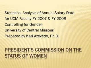 President's Commission on the Status of Women