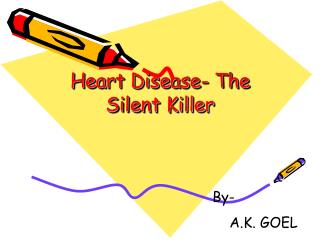 Heart Disease- The Silent Killer