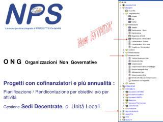 O N G   Organizzazioni  Non  Governative
