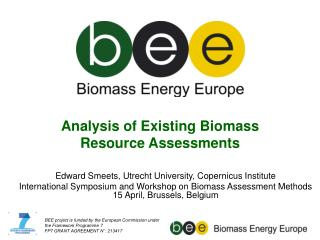 Analysis of Existing Biomass  Resource Assessments