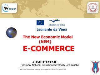 The New Economic Model (NEM) E-COMMERCE