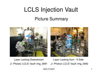 LCLS Injection Vault