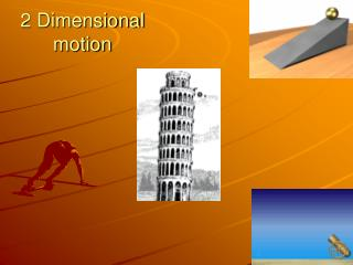 2 Dimensional motion