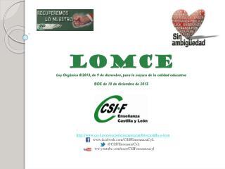 csi-f.es/es/sector/ensenanza/ambito/castilla-y-leon  facebook/CSIFEnsenanzaCyL
