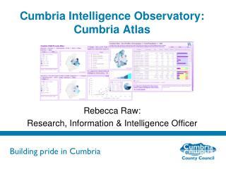 Cumbria Intelligence Observatory: Cumbria Atlas