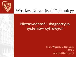 Niezawodnosc i diagnostyka system w cyfrowych
