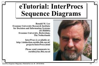 eTutorial: InterProcs Sequence Diagrams