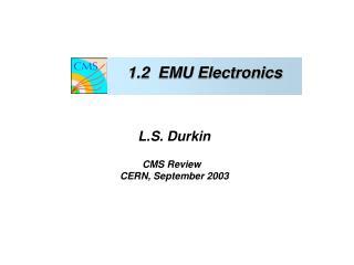 1.2  EMU Electronics