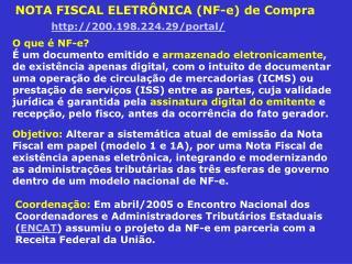 NOTA FISCAL ELETR NICA NF-e de Compra          200.198.224.29