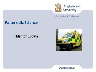 Paramedic Science